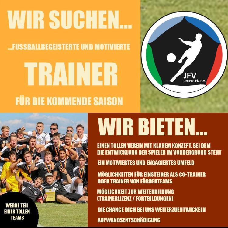 JFV Untere Elz sucht Trainer