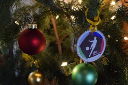 JFV Untere Elz Logo in Weihnachtsbaum